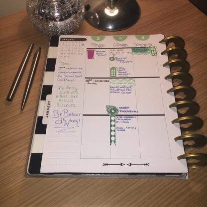 January Planning